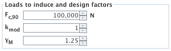 Input - load data and design factors